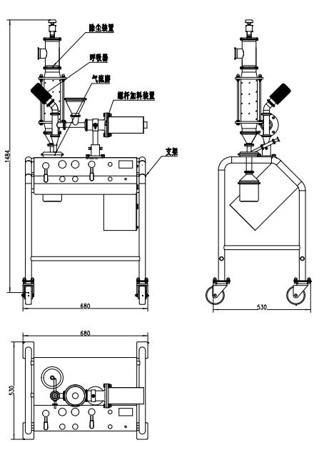 MQP01实验室用气流粉碎机